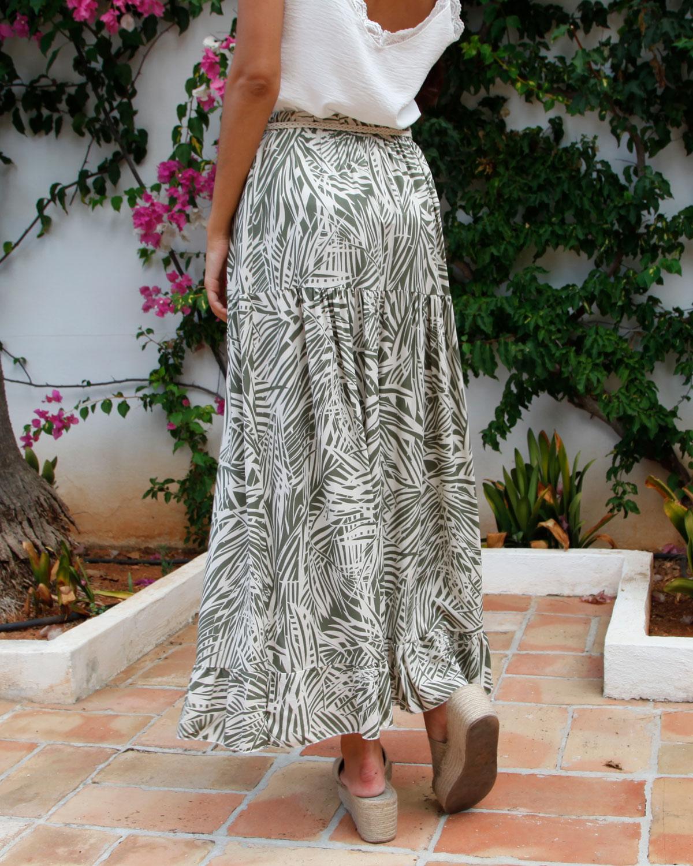 falda-larga-verde