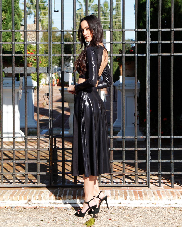 conjunto-falda-largo-top-negro