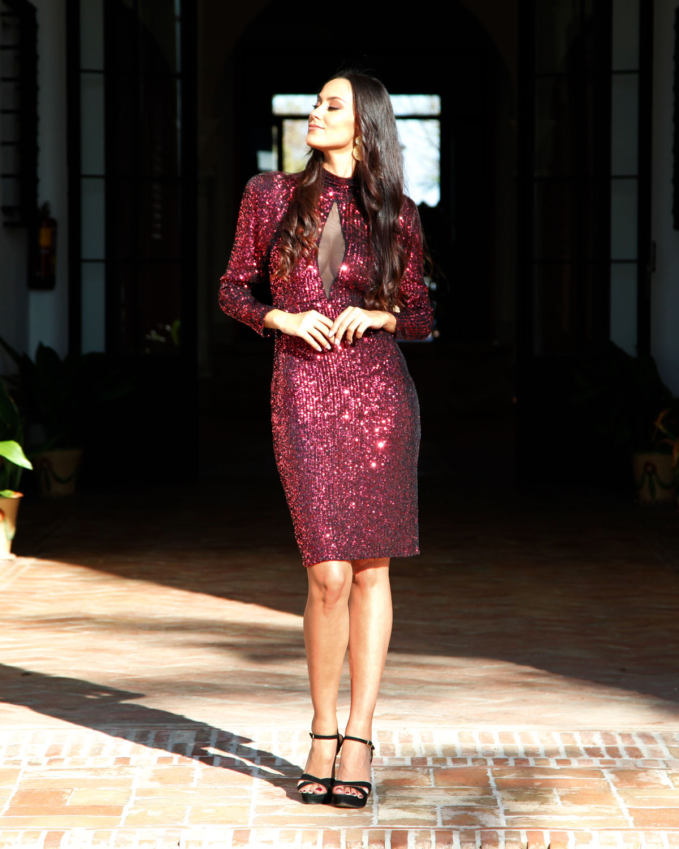 vestido rubi