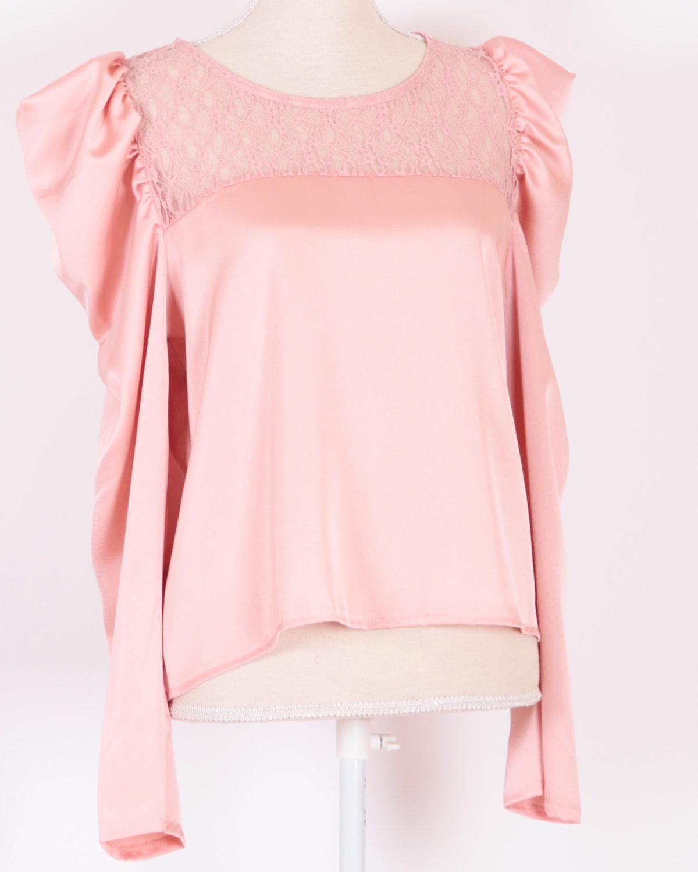 blusa-rosa-encaje-manga-larga
